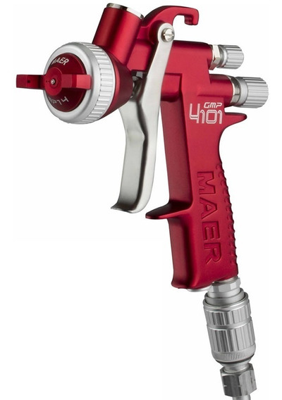 Pistola Pintar Maer 4101 Gmp Leon Profesional Automotor