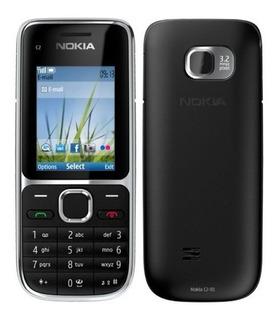 Nokia C2-01 Novo,lacrado,nacional,nota Fiscal,1ano Garantia