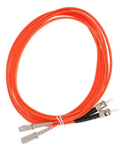 Imagen 1 de 6 de Sc-st 10 Gigabit Dúplex Cable Óptico De Fibra Óptica