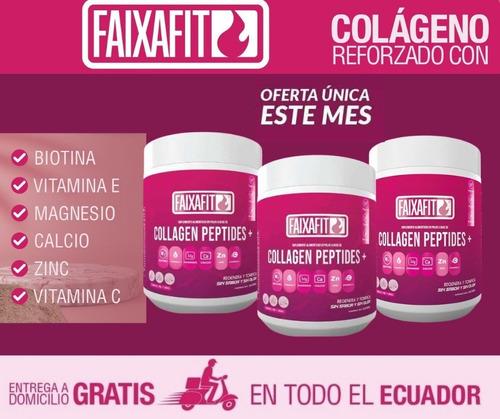 Imagen 1 de 5 de Colageno Hidrolizado +peptidos Faixafit 3 X 50