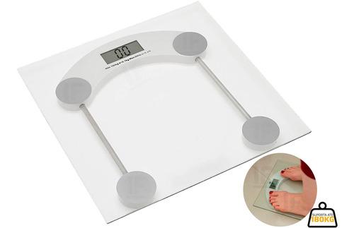 Balança Digital Banheiro Academia 180kg Quad