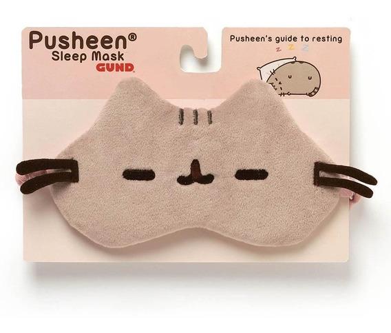 Mascara Para Dormir Pusheen Cat Sleep Mask Gund 7 Pulgadas