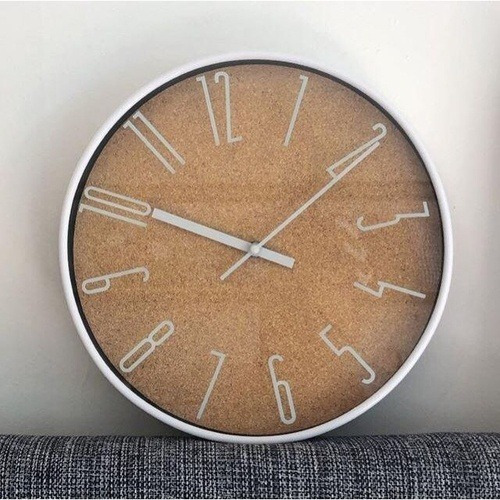 Relógio Parede Light Wood Style