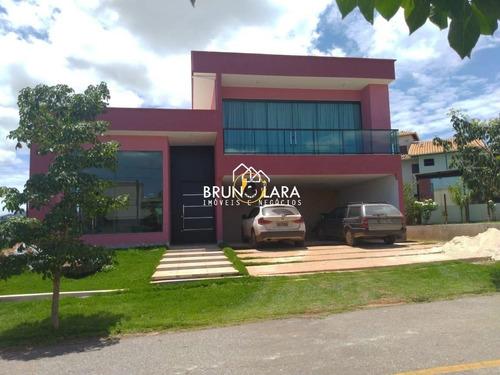 Casa À Venda Em Mário Campos Condomínio Serra Dos - Ibl1550