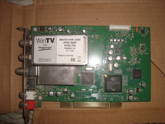 Hvr 1600 Pci + 850 Usb Hauppage Usado Padrão Ntsc Atsc Eua