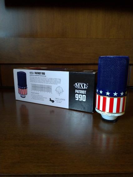 Microfone Condensador Mxl 990 Patriot Limited Edition
