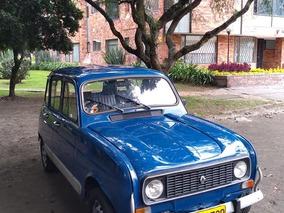 Renault 4 Master Azul Clásico