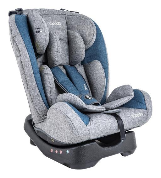 Cadeira Para Auto - De 09 Á 36 Kg - Grow - Azul E Cinza - Ki