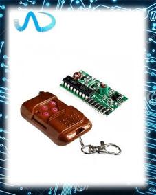 Chave De Controle Remoto Sem Fio 315mhz Ic 22622272 4 Ch