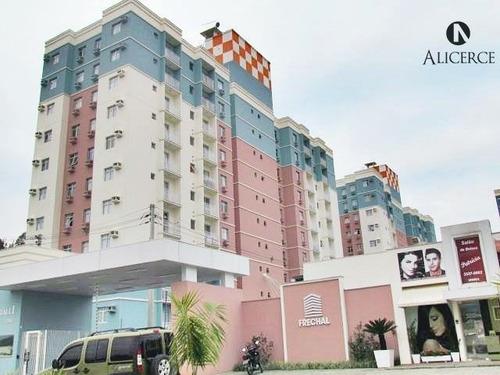 Apartamento Itoupava Central, 2 Dormitórios E 1 Vaga - 2606