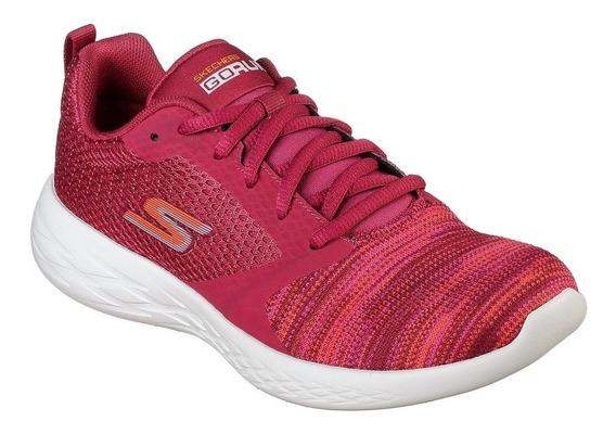 Zapatilla Skechers Go Run 600 Reactor Rosa 15081pnk