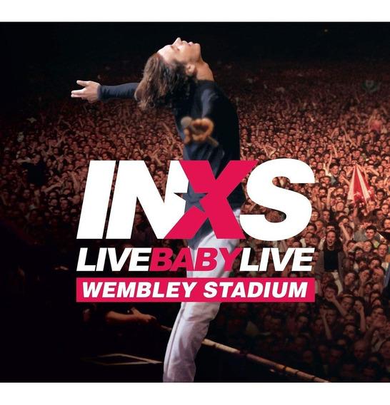 Inxs Live Baby Live Cd Doble + Bluray Nuevo Importado