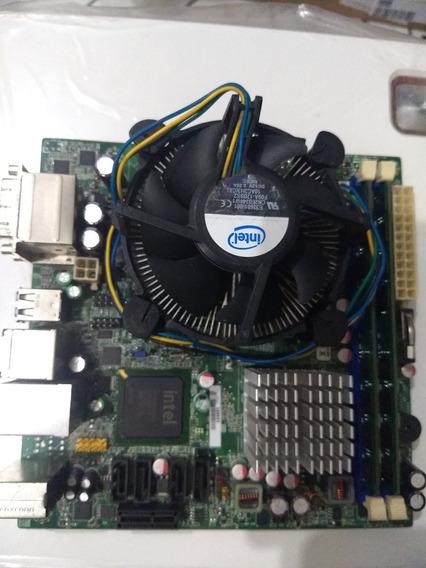Kit 775 Mini Itx Dual Core 2.6 + 4gb Ram Ddr2