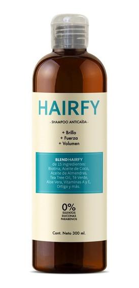 Hairfy - Shampoo Anticaída - Biotina + 14 Activos - 300ml