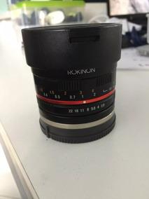 Lente Rokinon 8mm 2.8 Sony E-mount Fisheye