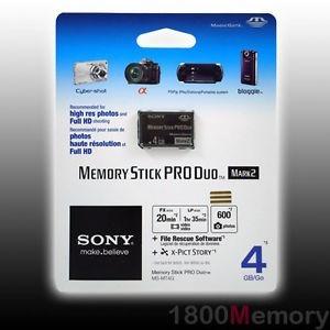 Cartão Pro Duo Sony Original 2 Gb