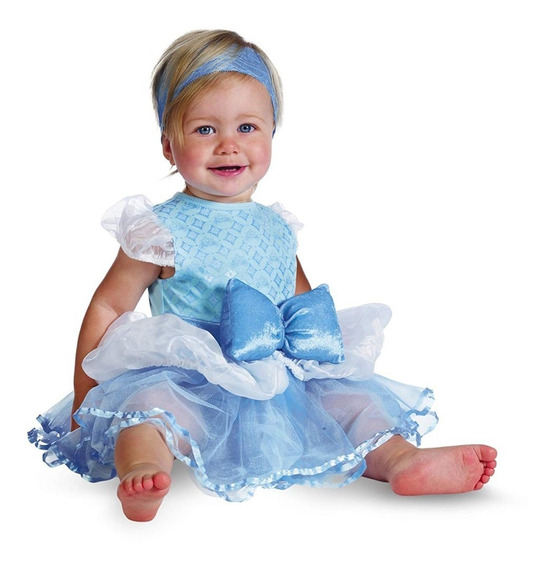 Niñas Bebés,disfraz Princesa Cinderella Disguise