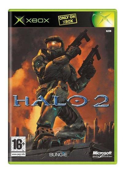 Halo 2 Xbox Europeu Mídia Física Pronta Entrega