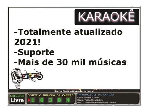 Karaoke 2020,profissional - Software Original! 30 Mil Música