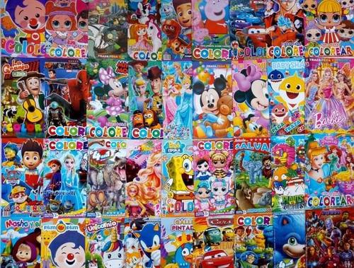 Libros De Coloreo Sorpresas Infantiles Fiestas Regalos Niños