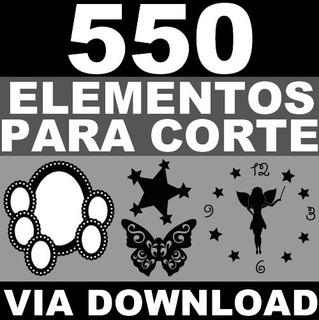 550 Desenhos Corte Vinil Mdf Acrilico Laser Espelho Moldura