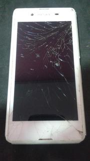 Smartphone Sony Xperia E3 - Não Liga E Tela Quebrada