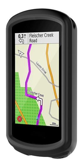 Capa Silicone Case Protetora P/ Garmin Edge 1030 Preta Preto