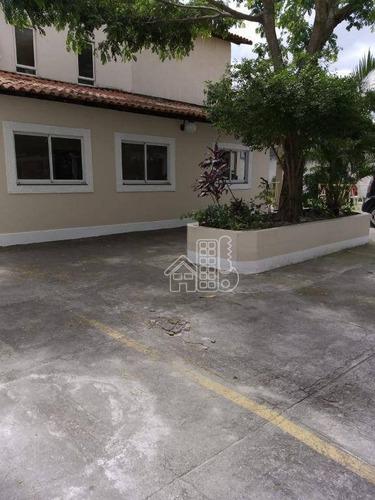 Apartamento Com 2 Dormitórios À Venda, 68 M² Por R$ 180.000,00 - Porto Novo - São Gonçalo/rj - Ap2801
