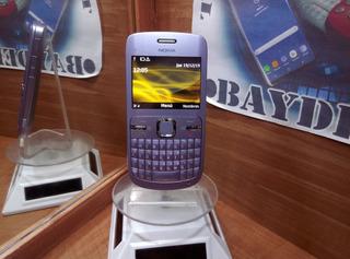 Nokia C3 Morado Metalico, Unefon !!envio Gratis!!