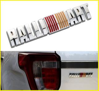 Emblema Ralliart Mitsubishi Lancer Metalico Accesorios Evo