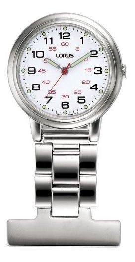 Lorus Unisex Profesional Esfera Blanca Enfermeras Reloj Fob