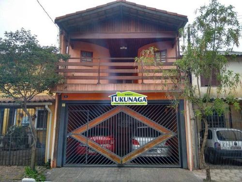Sobrado Com 3 Dormitórios À Venda, 160 M² Por R$ 470.000,00 - Vila Itapegica - Guarulhos/sp - So0158