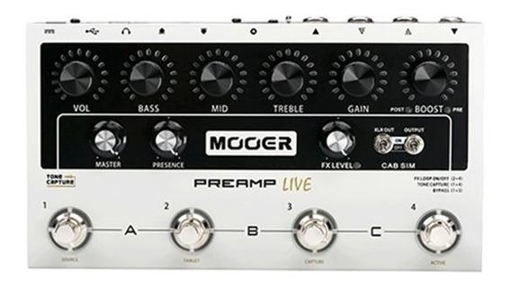Pedaleira Mooer Áudio Guitarra Multi Preamplive M999 Pd1124