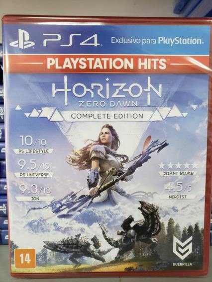 Ps4 Horizon Zero Dawn Complete Edition Mídia Física Lacrado - Dublado Em Português