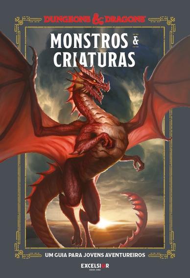 Livro Dungeons & Dragons - Monstros & Criaturas