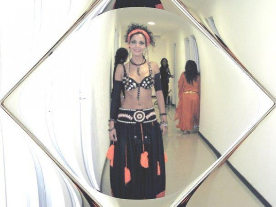Traje Para Belly Dance Tribal Usado