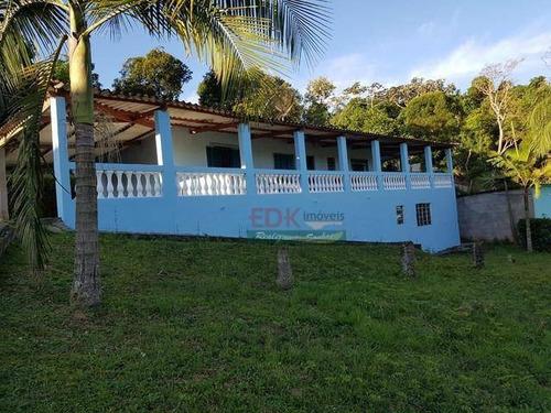 Imagem 1 de 6 de Chácara Com 1 Dormitório À Venda, 1280 M² Por R$ 242.000 - Boa Vista - Mogi Das Cruzes/sp - Ch0433
