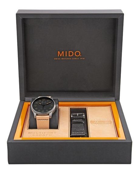 Relógio Mido - Multifort Escape Horween - M032.607.36.050.99