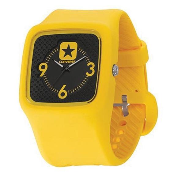 Relógio De Pulso Converse Clocked Ii - Amarelo