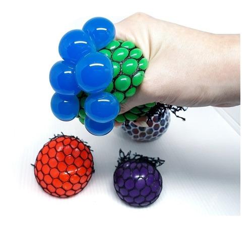 Squishy Mesh Ball Por Tob,relajante, Anti Estres, X 12 Unds.