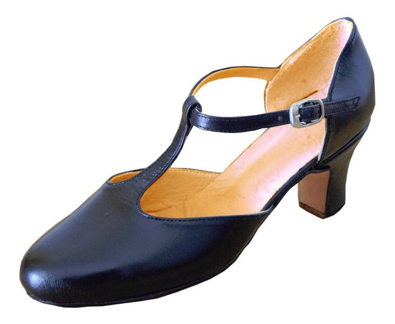 Zapato Para Jazz - Salsa - Tango - Comedia Musical - Cuero