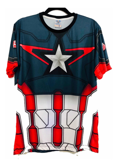 Camisa Capitão América Vingadores 2