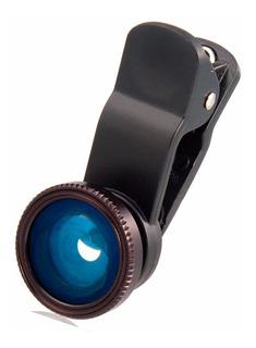 Lente Ojo De Pez Para Celulares Smartphones Selfie Cam Lens