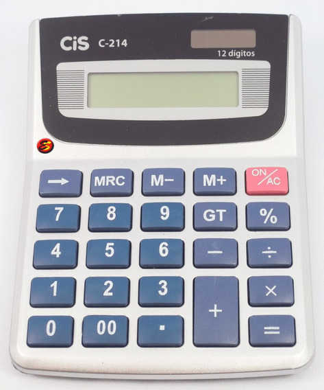 Calculadora De Mesa Calk Cis C - 214 12 Digitos