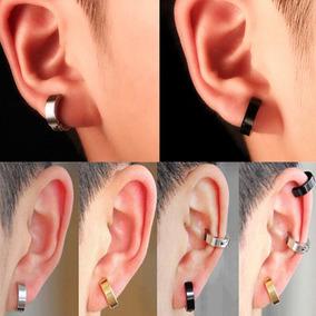 Aro Piercing Clip Falso Acero (no Necesita Perforacion) Par