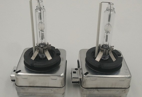 Par Lampada Xenon D1s 6000k 60% Mais Qualidade