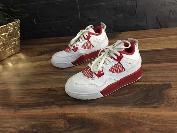 Tenis Jordan 4 Retro Infantil 100% Originales + Envío Gratis