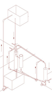 Plano Alambique Destilador Industrial Medidas Construye