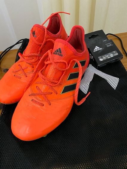 Zapatos adidas Ace 17.1 Sg Leather Tapones Intercambiables
