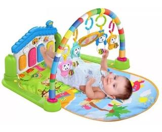Gimnasio Para Bebé Musical Con Piano Mesa De Actividades